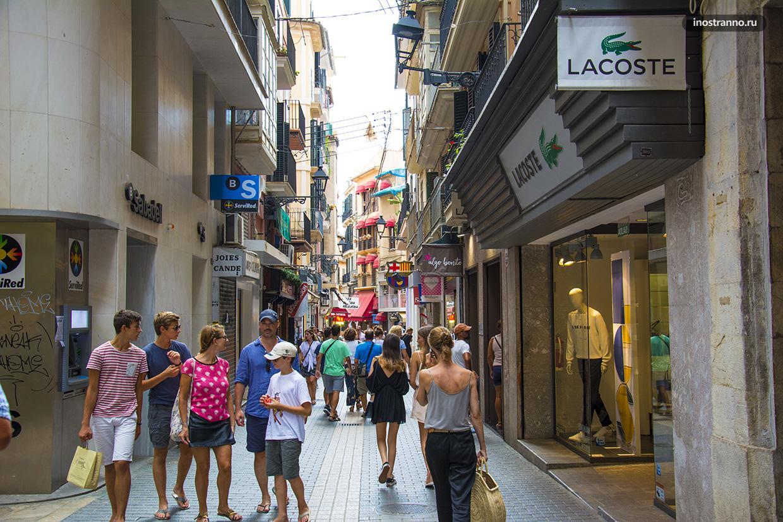 Улица в Пальма де Майорка
