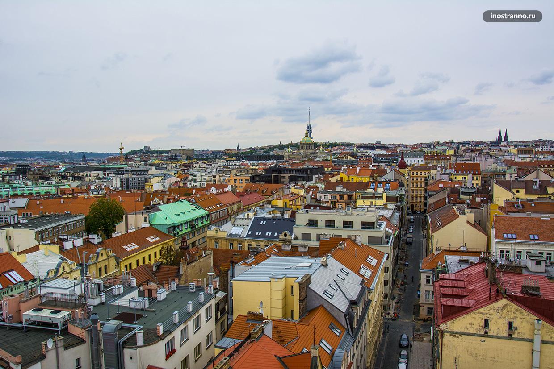 Смотровая площадка в центре Праги