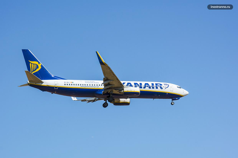 Boeing 737 авиакомпании Ryanair