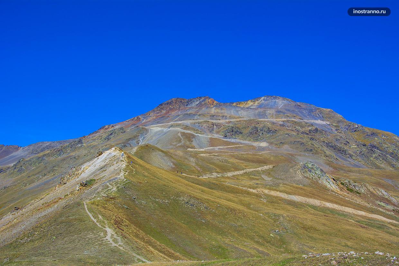 Кавказские горы в Сванетии
