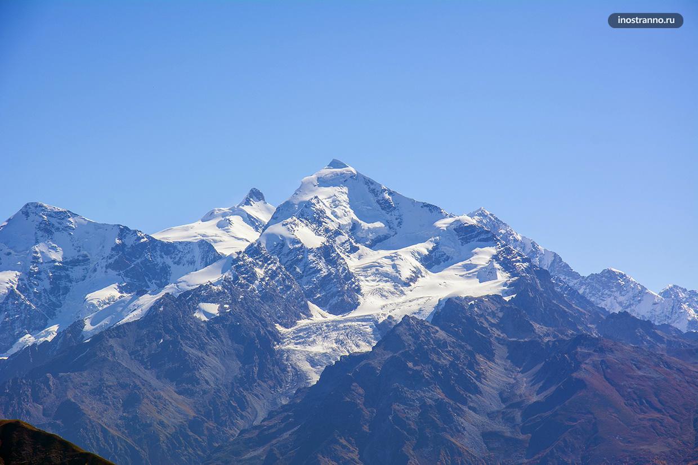 Ледник Чалаади в Сванетии, Грузия