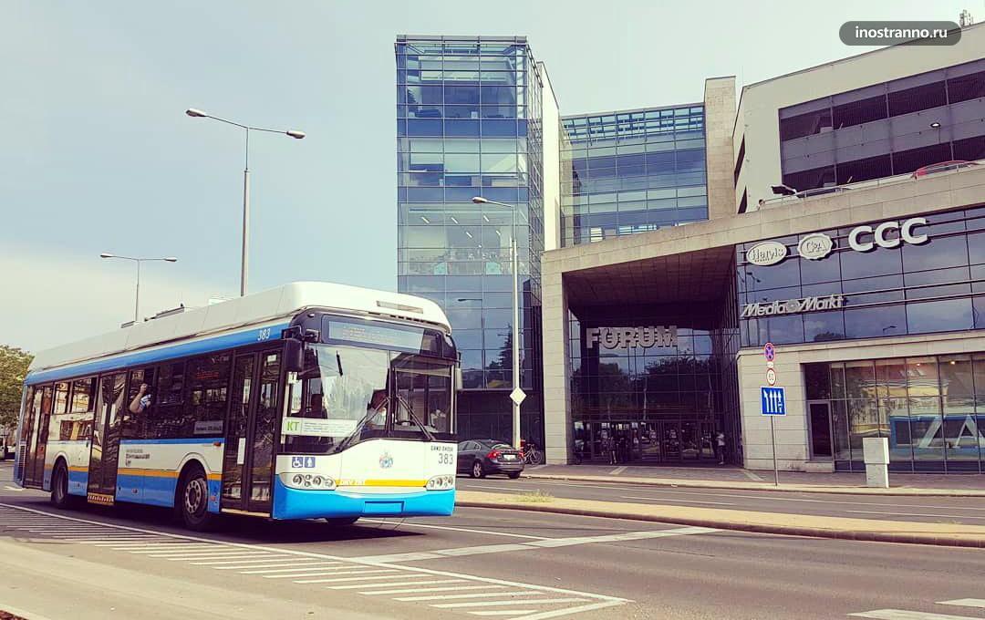 Автобус в Дебрецене из аэропорта