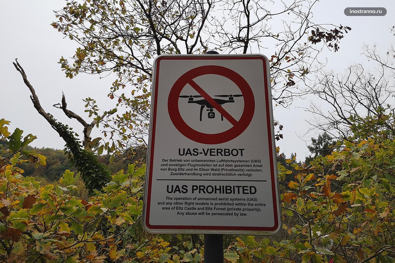 Запрет дронов в Германии
