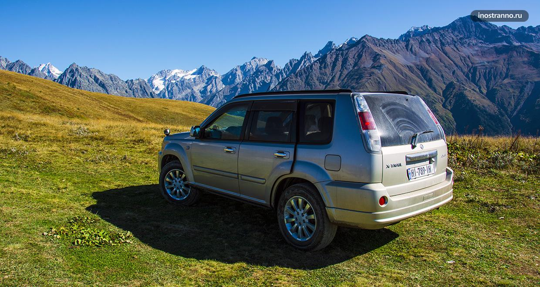 Наш маршрут путешествия по Грузии на автомобиле