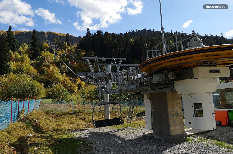 Канатная дорога в Местии горнолыжный курорт Хацвали