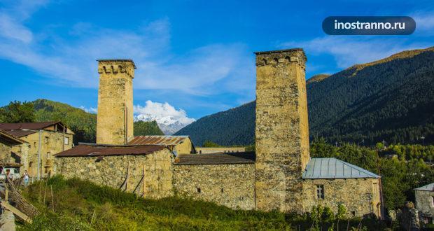 Местия – горный поселок в сердце Сванетии