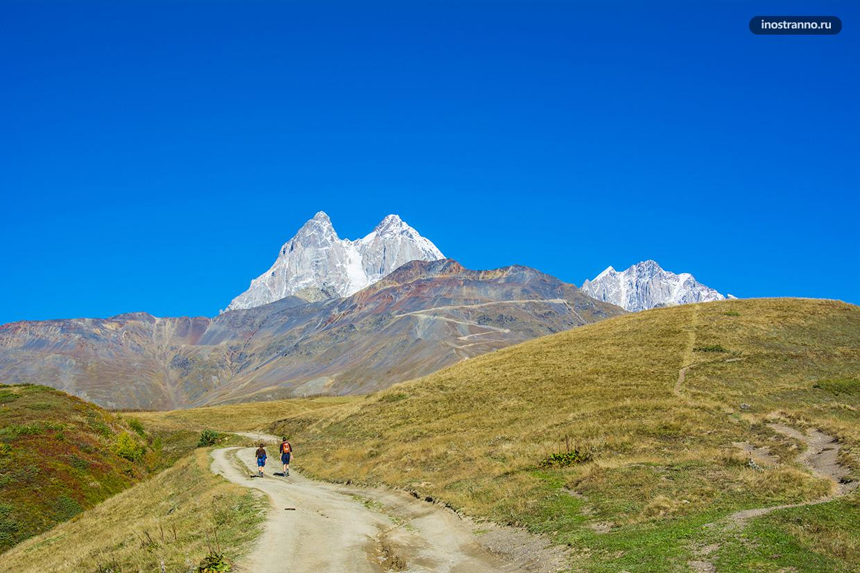 Ушба гора Большого Кавказа