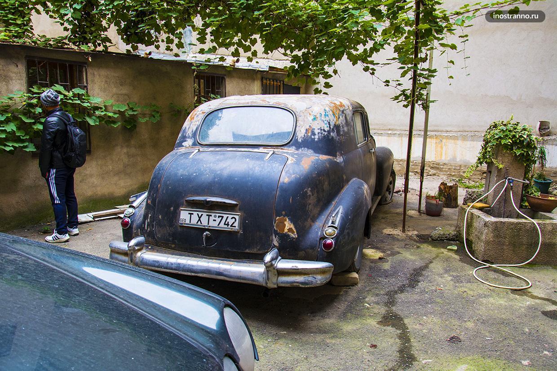 Дворики старого Тбилиси