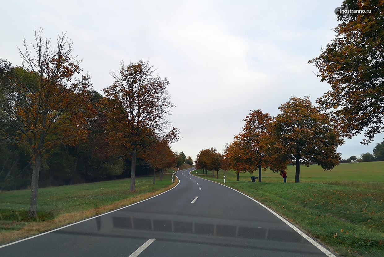 Дорога в Германии
