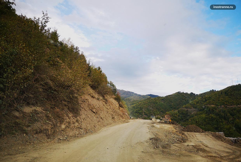 Дорога в Местию