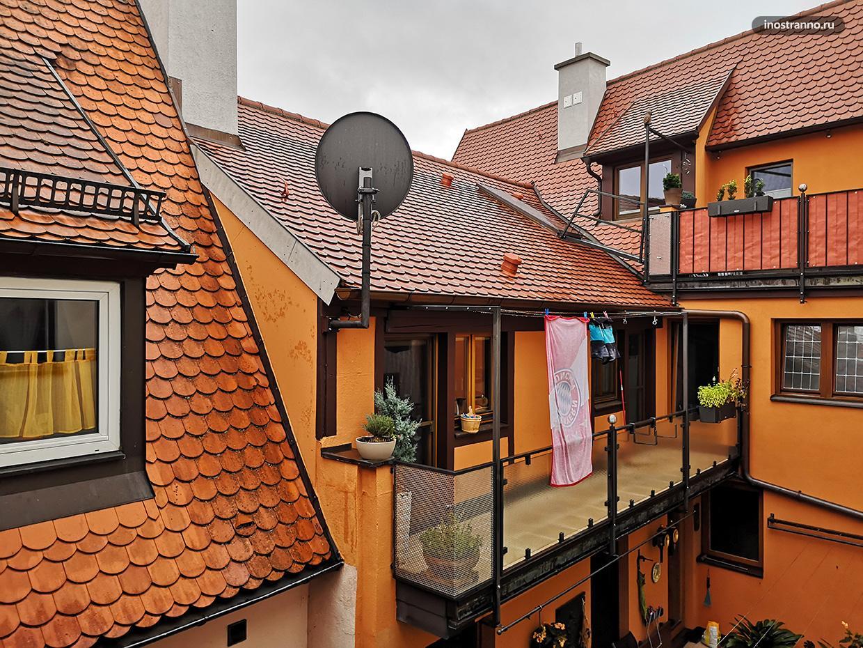 Ротенбург-на-Таубере дворик