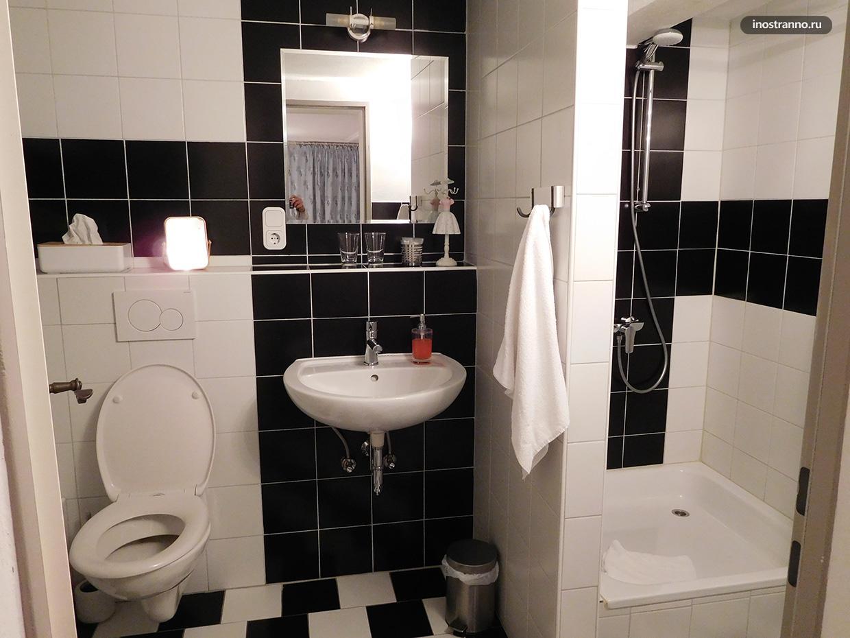 Ротенбург-на-Таубере отель с хорошей ванной