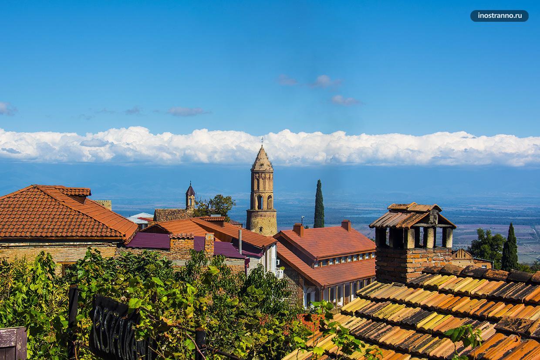 Сигнахи красивый город недалеко от Тбилиси