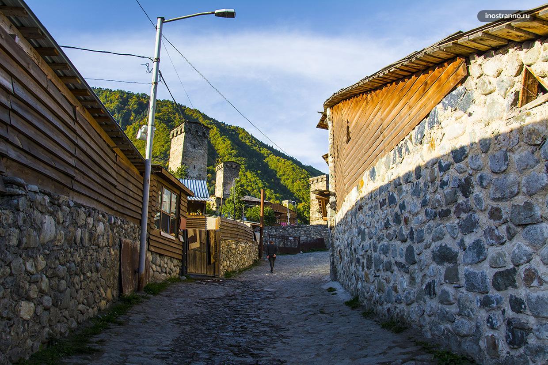 Улицы в Местии