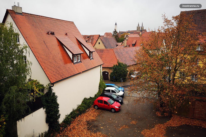 Типичный немецкий город