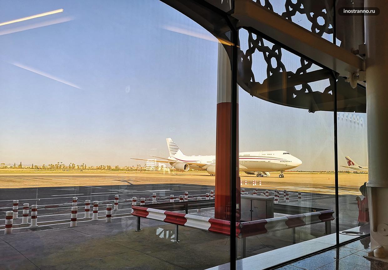 Самолет в Марокко