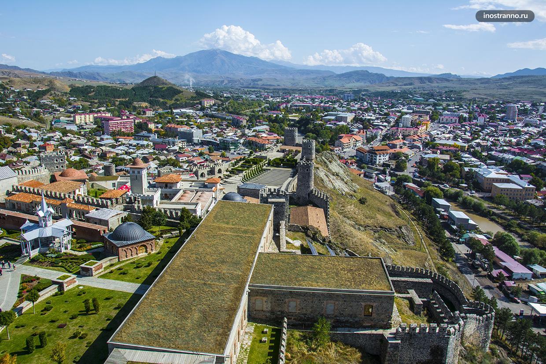 Панорама города Ахалцихе