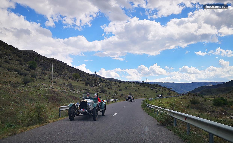Автопробег в Грузии
