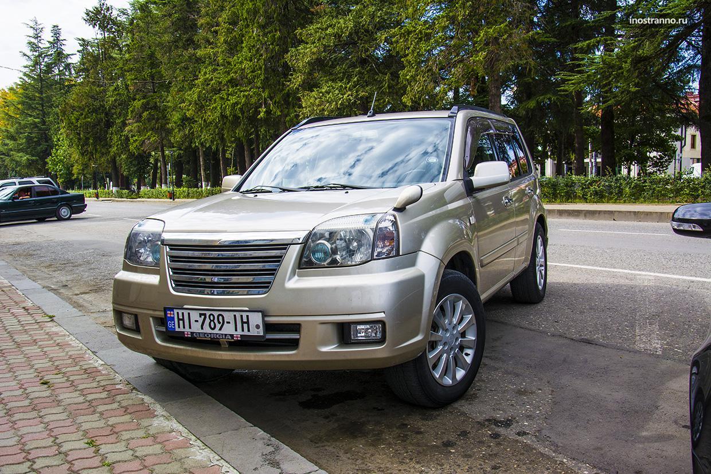 Путешествие на автомобиле по Грузии