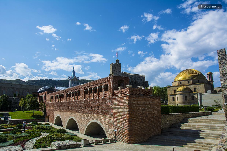 Достопримечательность Грузии крепость Рабат