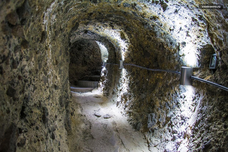 Грузинский пещерный город