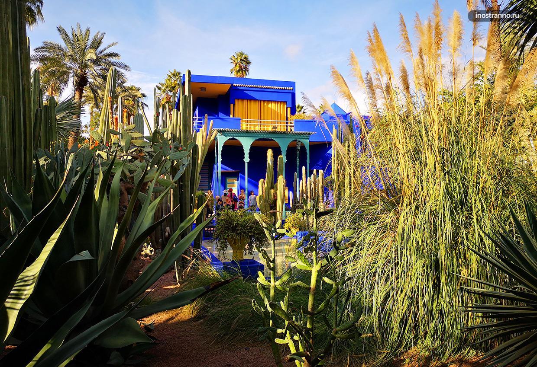 Сад Мажорель в Марракеше