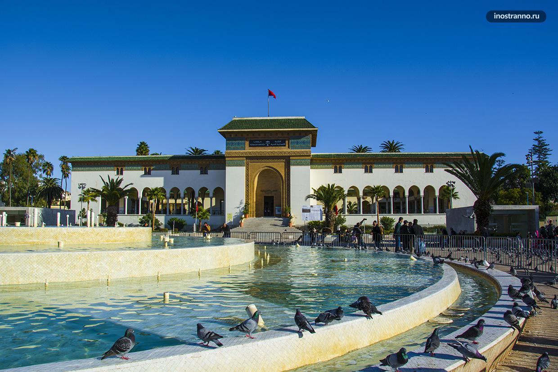 Площадь Мохаммеда 5 в Касабланке