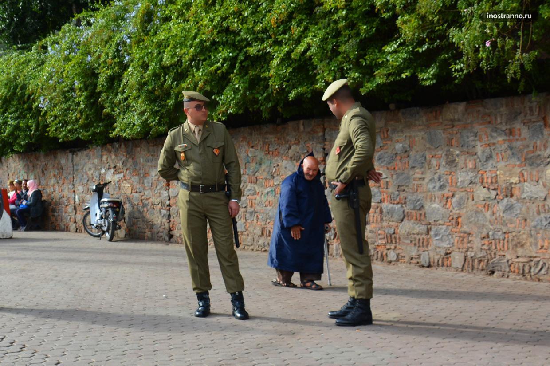 Полиция в Марокко