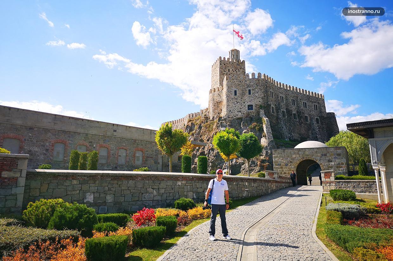Фото с крепостью Рабат в Грузии