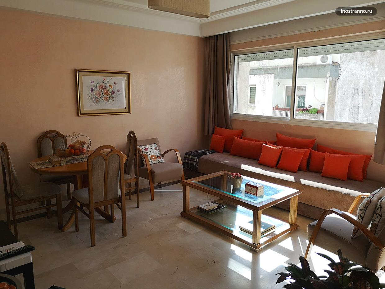 Аренда квартира в Касабланке