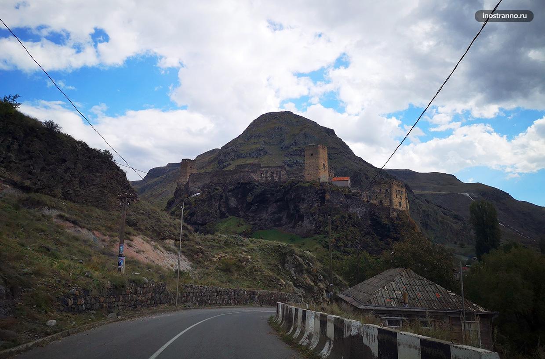 Дорога в Вардзию в Грузии