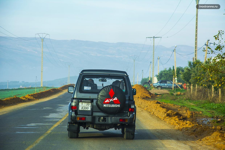 Дороги в Марокко