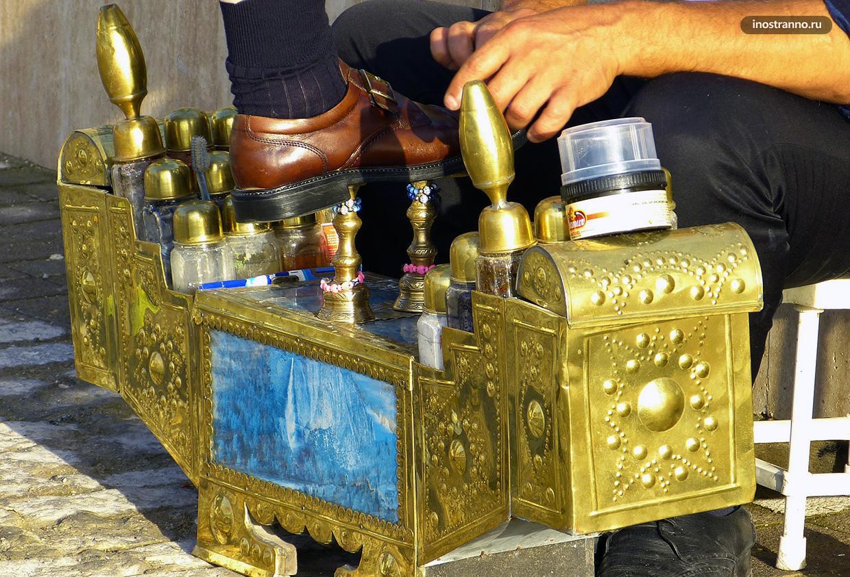 Чистильщик обуви в Марокко