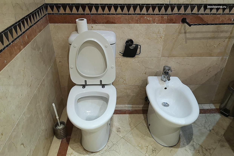 Туалет в Марокко