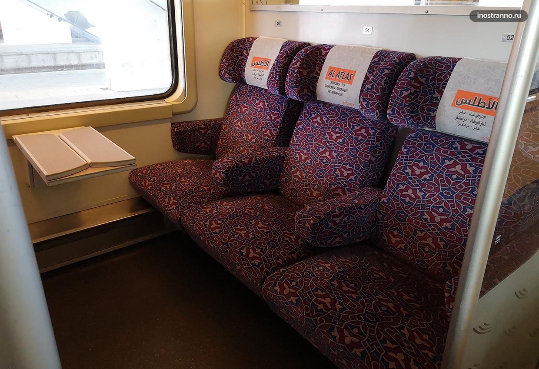 Поезд в Марокко
