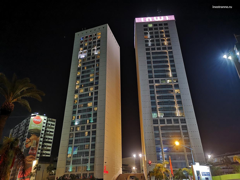 Башни близнецы в Касабланке