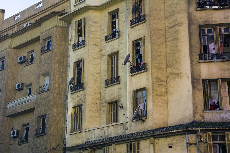 Типичные дома в Касабланке
