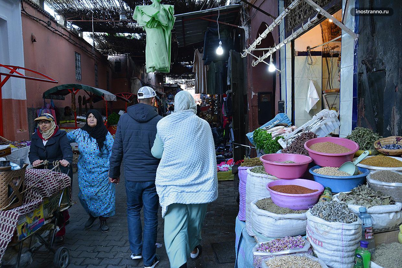 Женщины в Марокко