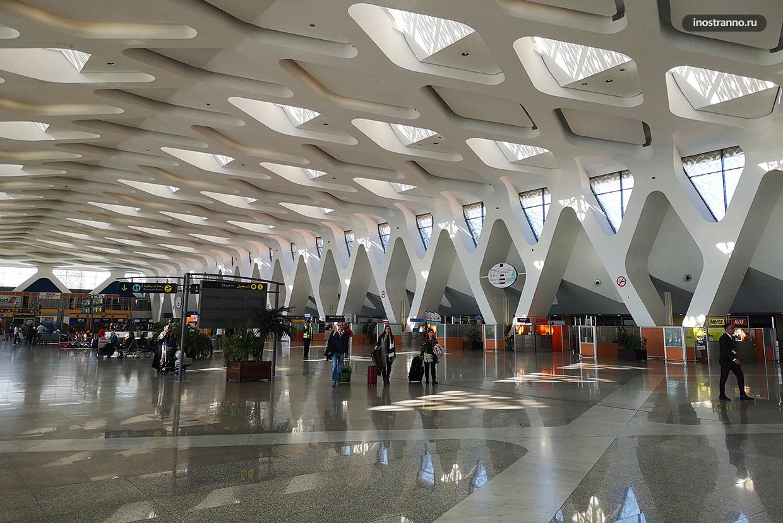 Аэропорт Марракеша терминал