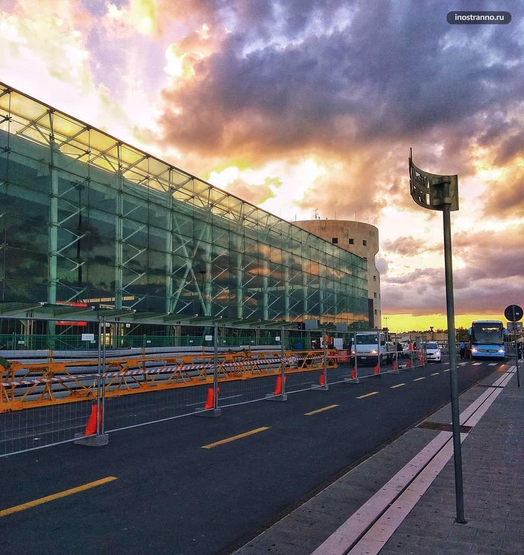 Аэропорт Катании Фонтанаросса как добраться