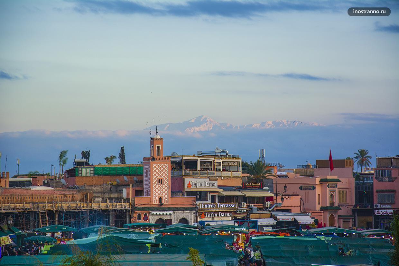 Атласские горы Марокко
