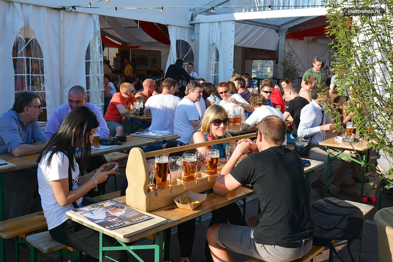 Чешский пивной фестиваль в Праге, чем заняться в мае