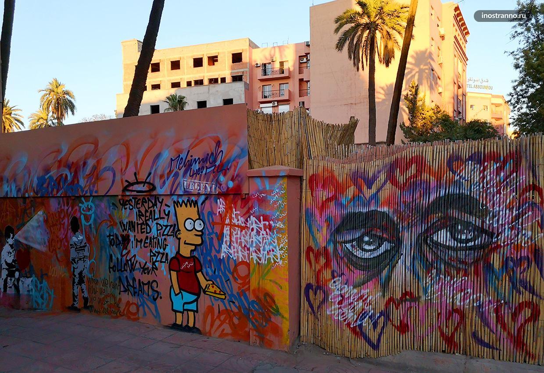 Граффити Симпсоны