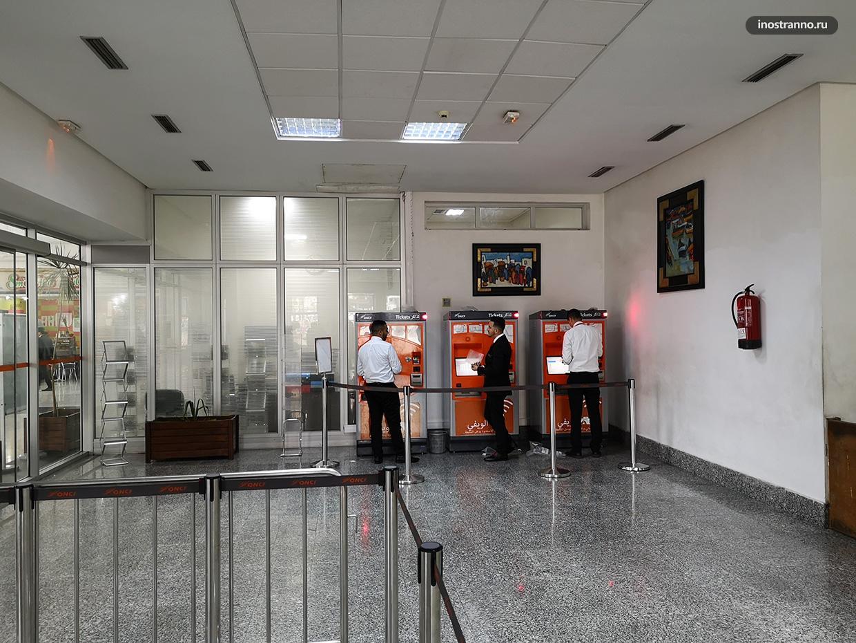 Главный железнодорожный вокзал в Марракеше