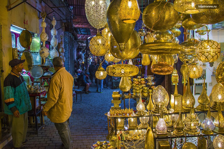 Сказочный восточный рынок Марракеш