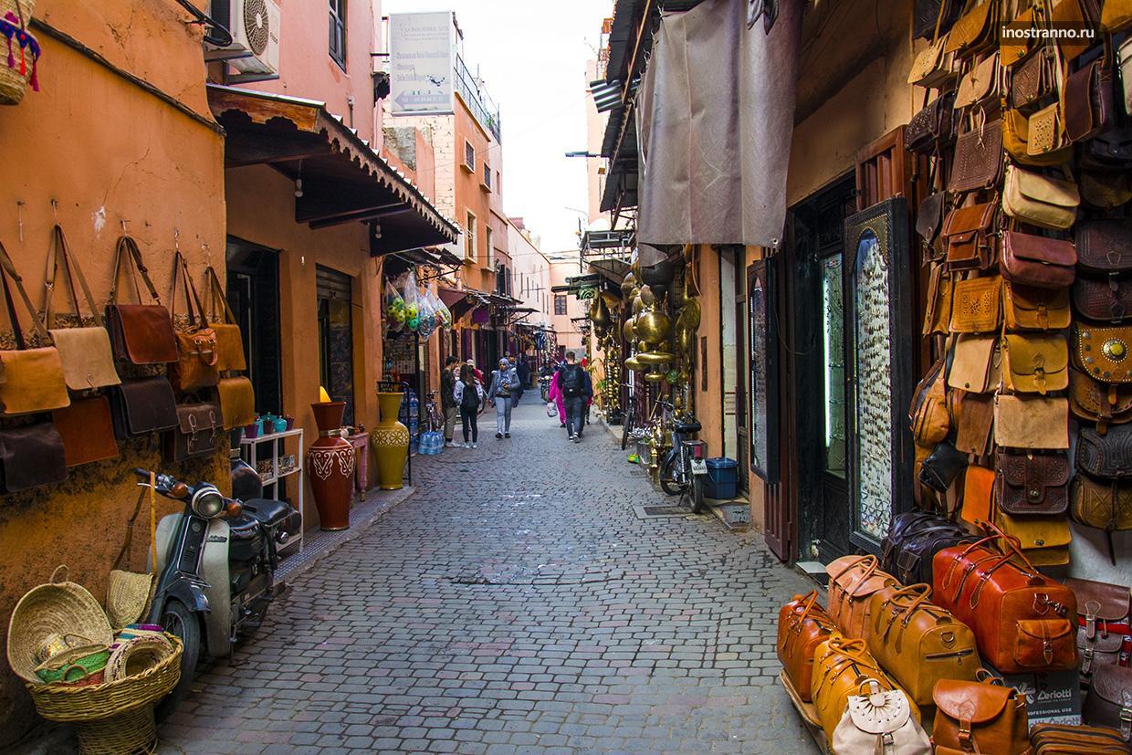 Марракеш интересные улицы