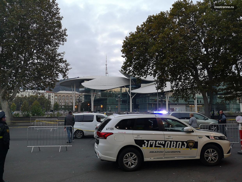 Полицейские в Грузии
