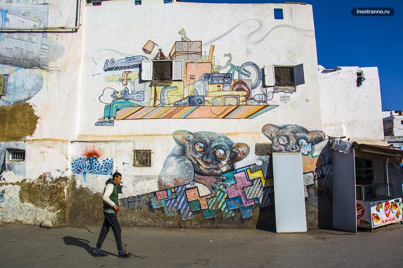 Толстый лори граффити