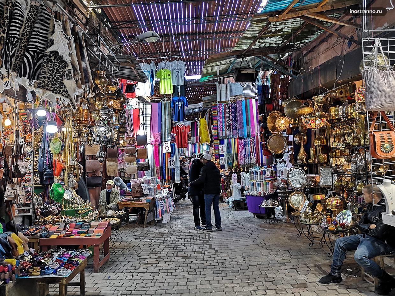Рынок Марракеша Сук