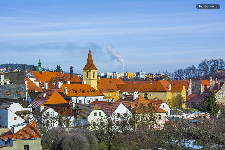 Город Чешский Крумлов